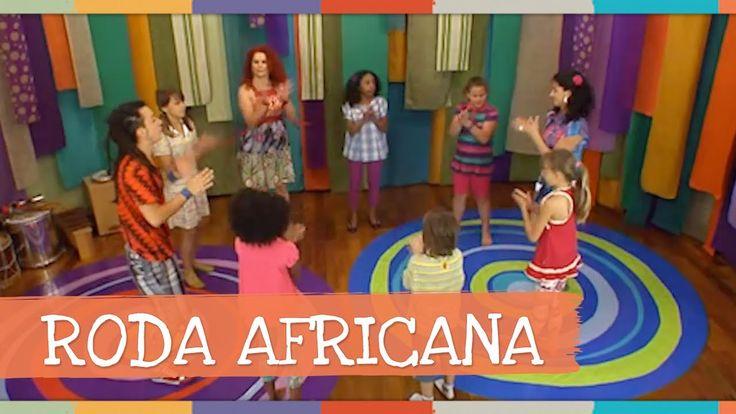 Roda Africana - DVD As Melhores Brincadeiras da Palavra Cantada