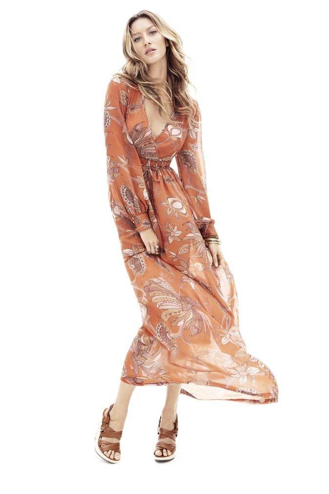 Tendencia 2015: vestidos largos al estilo hippie - http://vestidosglam.com/tendencia-2015-vestidos-largos-al-estilo-hippie/