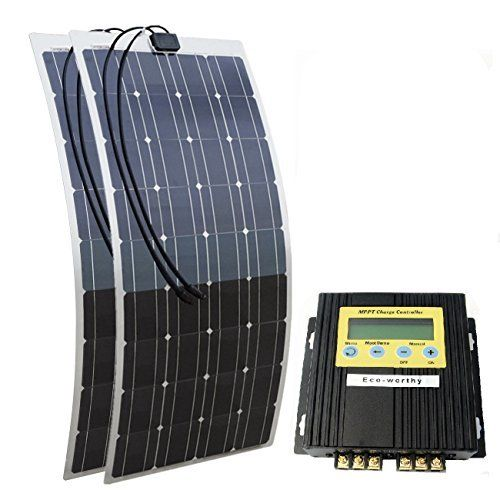 Fancy Komplette V Solaranlage T V Qualit ts Akku wartungsfrei W Hochleistungs Solarmodul W Qualit ts