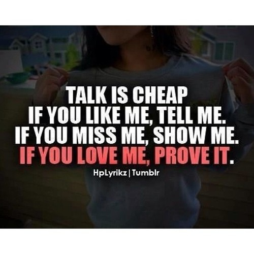 If You Love Me Tell Me Quotes Daily Inspiration Quotes