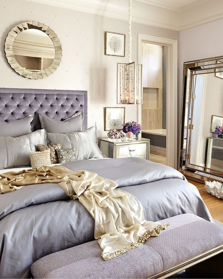 50 classic glam bedroom designs that are utterly gorgeous - Bedroom Idea