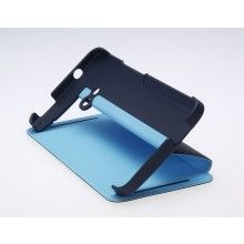 Forro HTC One - Original - Double dip flip case Azul Azul Claro  $ 80.331,14