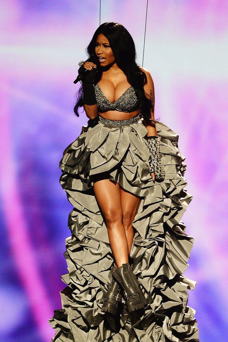 Nicki Minaj at the 2014 MTV EMAs