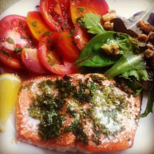 oven baked sockeye salmon | Clean Main Dishes | Pinterest