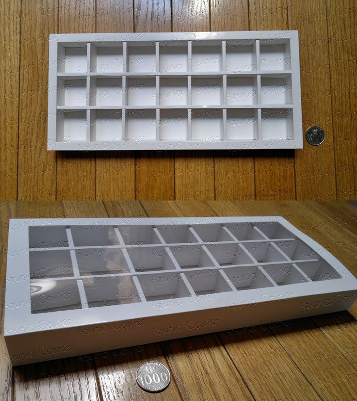 Box Cokelat isi 21  (7x3)