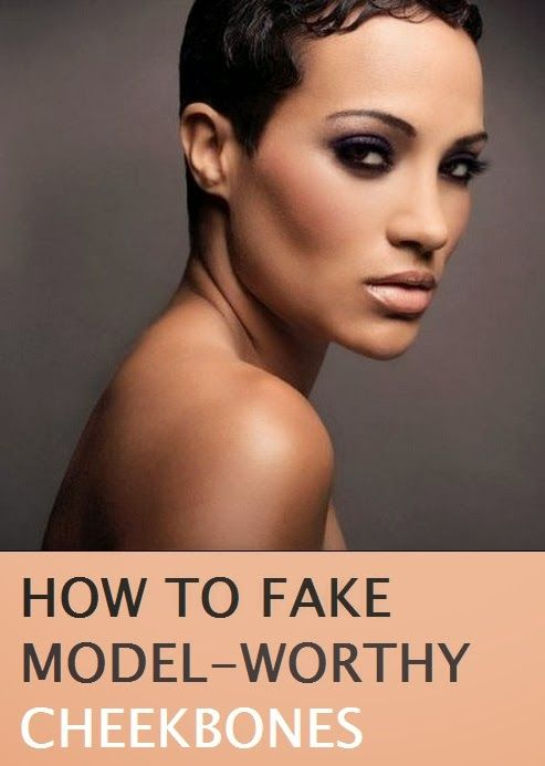 how to create cheekbones with bronzer