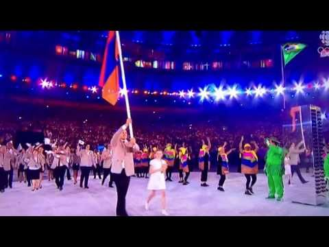 Armenian Olympic team - YouTube