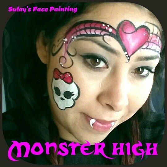 monster hai schminken
