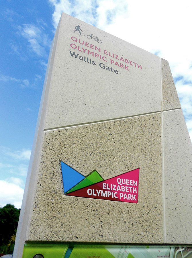 Queen Elizabeth Olympic Park - Applied Wayfinding | Applied Wayfinding