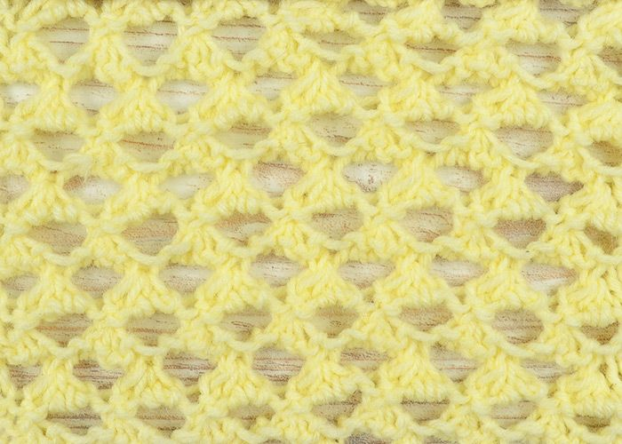 How to knit grand eyelet stitch - free tutorial