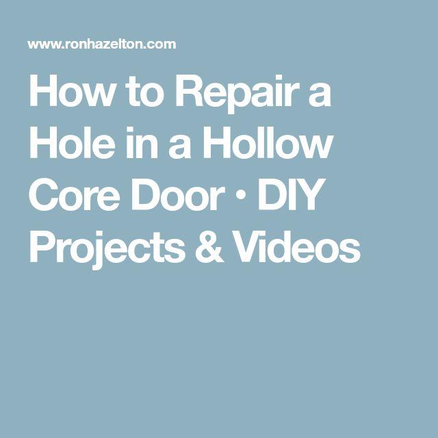 Interior Door Diy Ideas: Best 25+ Hollow Core Doors Ideas On Pinterest