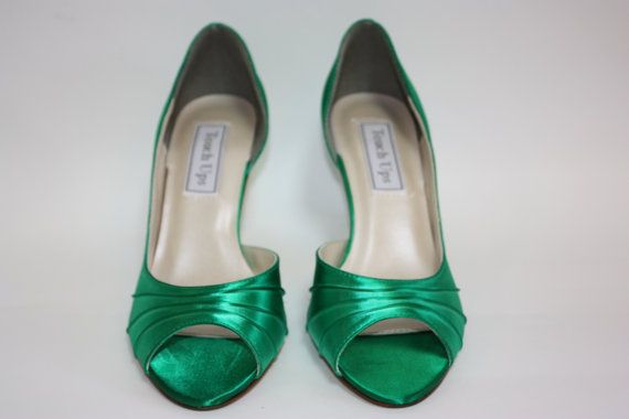 Perfect!!! But why are you so pricey?  Dyeable Wedding Shoe  Custom Color Wedding Shoe  by Parisxox, $112.00