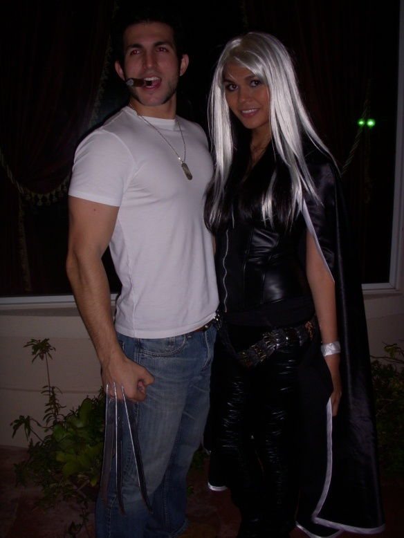 wolverine and storm halloween costume