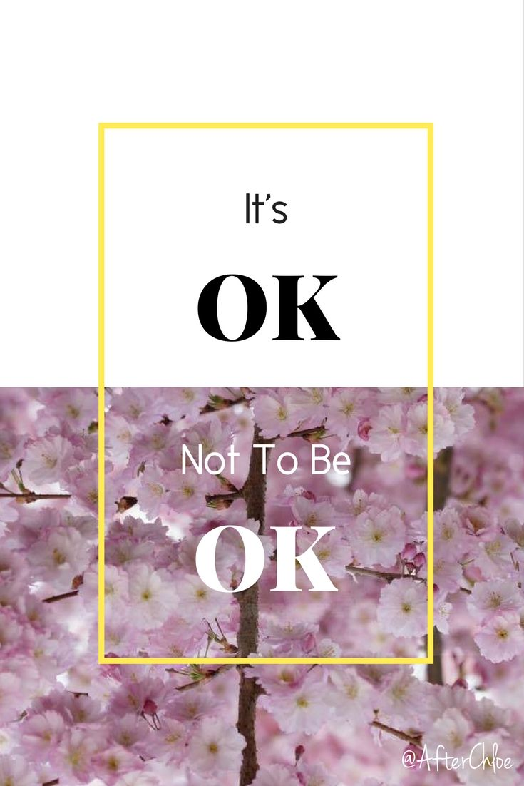 It's Ok not to be Ok | Grief | Stages of Grief | Loss of a Loved One |