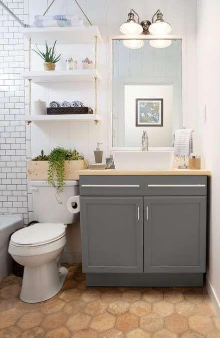 Trendy bathroom shelf over toilet apartment therapy ideas – bath. – #Apartme …   – Gäste toilette