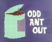 Odd Ant Out @ BCDB: A grocery truck loses a shipment of chocolate-covered ants. The Aardvark and another green aardvark fight over a can of ants, which they can't seem to open... , Watch Cartoon Video @ http://www.bcdb.com/cartoon_characters/10185-Odd_Ant_Out.html