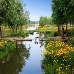 Sanlihe Ecological Corridor by Turenscape
