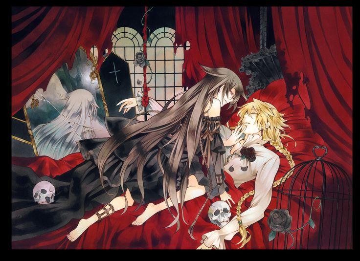 Love Mochizuki's art and symbolism...... Pandora Hearts : Original Artwork