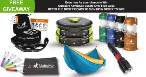 Win the Ultimate Outdoor Bundle including Hammock Camping... IFTTT reddit giveaways freebies contests