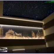 starry sky in the living room - gwieździste niebo w salonie e-technologia