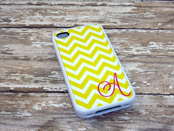 Yellow Chevron Phone case