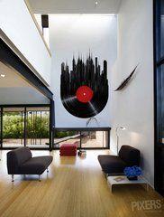 City of Vinyl • Minimalist – Living room • Pixers® • We live to change