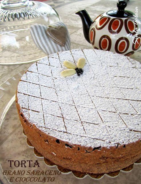 Siula Golosa: Torta al grano saraceno e cioccolato
