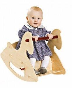 Wooden Rocking Horse $189.95 #sweetcreations #kids #babies #toys #play #rideon #rocking