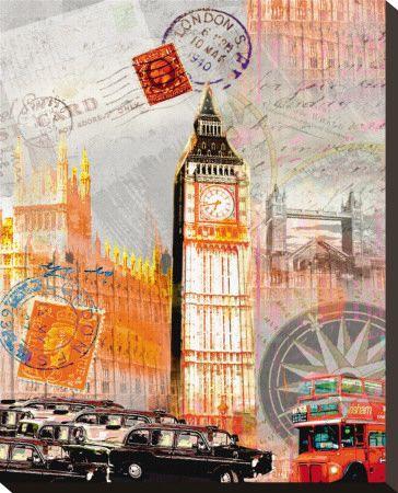 London Vintage Arte por Robin Jules na AllPosters.pt