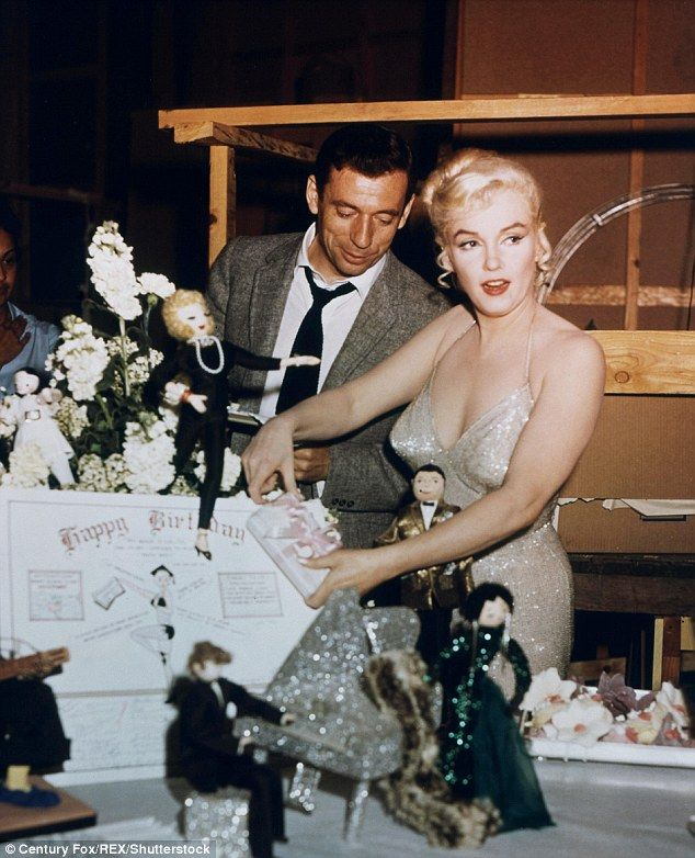 Marilyn and sexy French actor Yves Montand didn't contain their lovemaking to onscreen