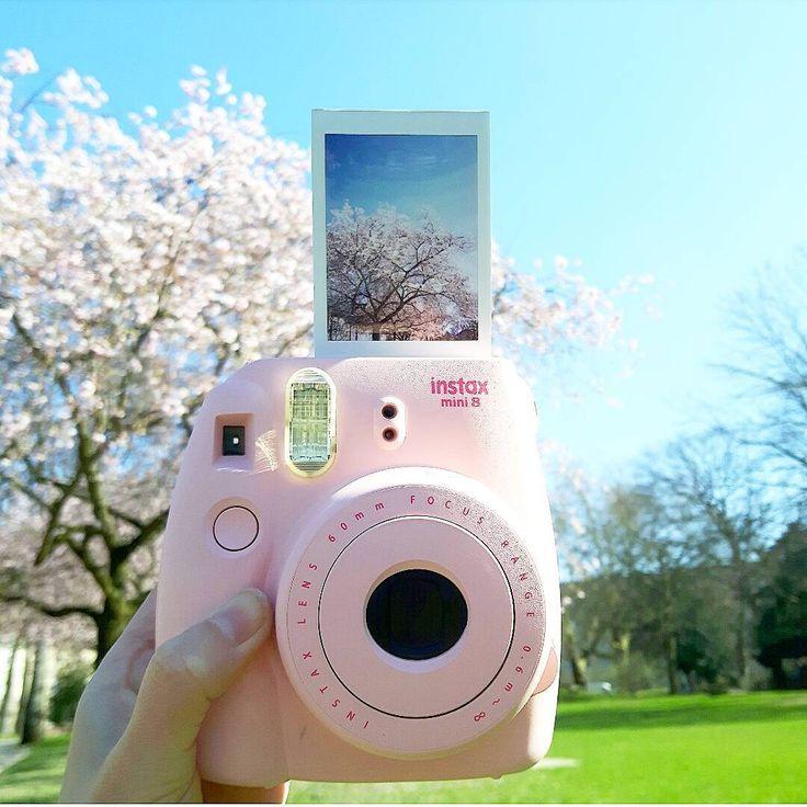 Geen tijd om foto's af te laten drukken? Met de Instax camera's van HEMA hoef je maar een paar seconden te wachten. #HEMA #Instax #foto #lente