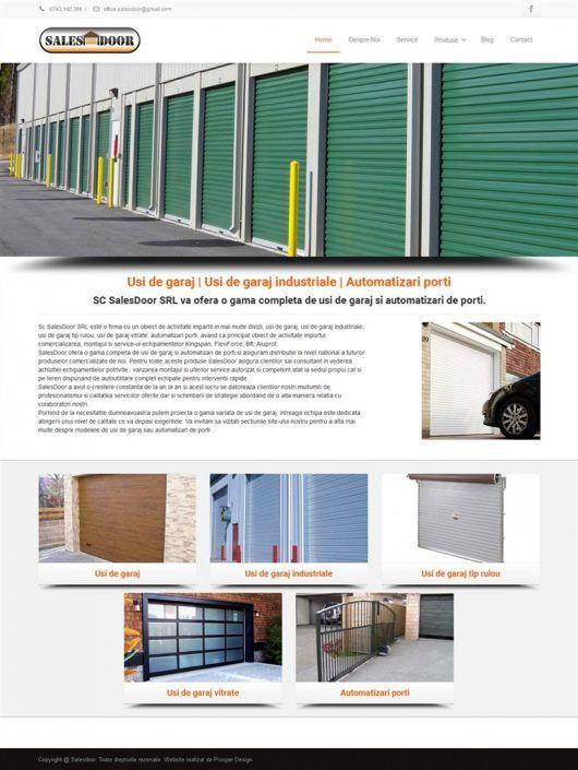 Prosperdesign Creare Site Usi de Garaj by ProsperDesignWeb.deviantart.com on @DeviantArt
