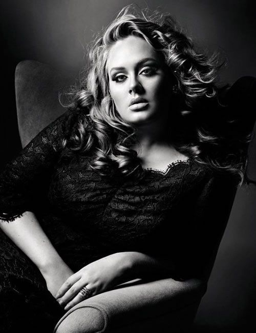 Absolutely beautiful loop lighting on Adele.