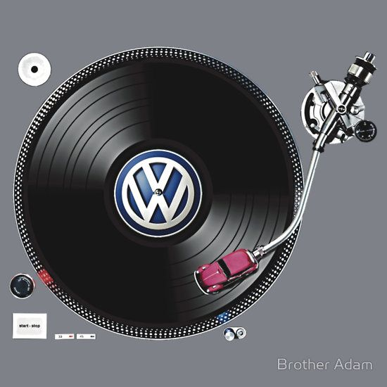 VW Tuning by Brother Adam. #djculture #turntable #VW http://www.pinterest.com/TheHitman14/dj-culture-vinyl-fantasy/