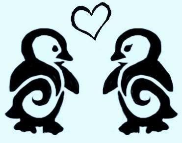 penguin tattoo photo: penguin Penguin_Tattoo_design_by_Asenceana.jpg