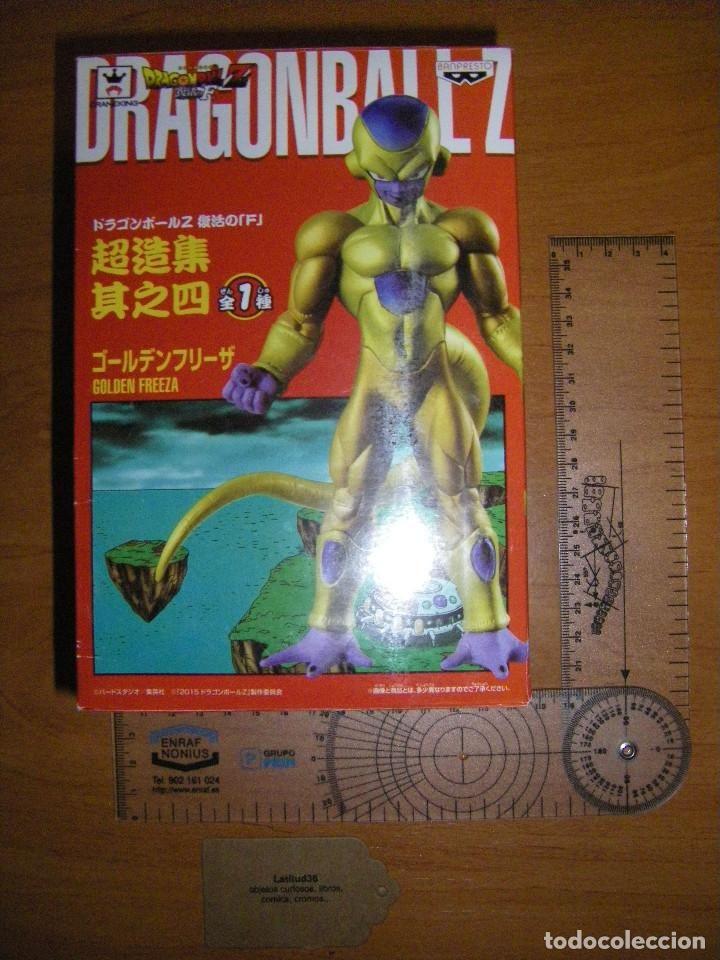DRAGONBALL Z. BANPRESTO. FREEZER DORADO (Juguetes - Figuras de Acción - Manga y Anime)