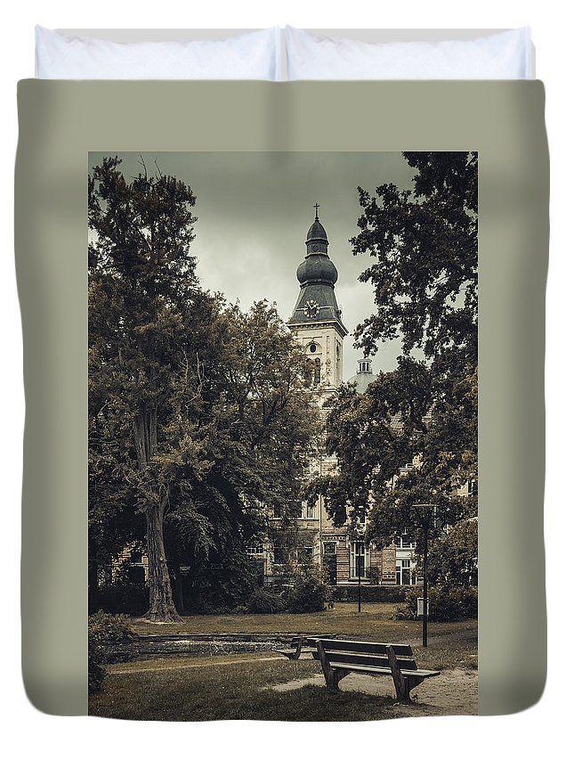 Travel Duvet Cover featuring the photograph Somewhere In Ghent. Part 3 by Elena Ivanova IvEA  #ElenaIvanovaIvEAFineArtDesign #ForHome #DuvetCovers #Gift