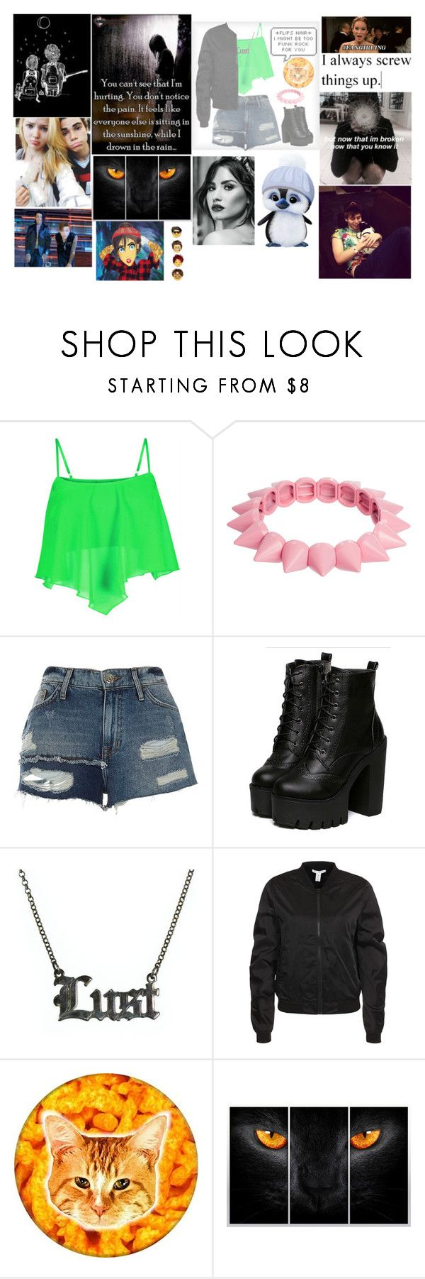 """""""fangirling"""" by anjalenabvb ❤ liked on Polyvore featuring ASOS, River Island, Hoolala, NLY Trend, Disney and fangirling"""
