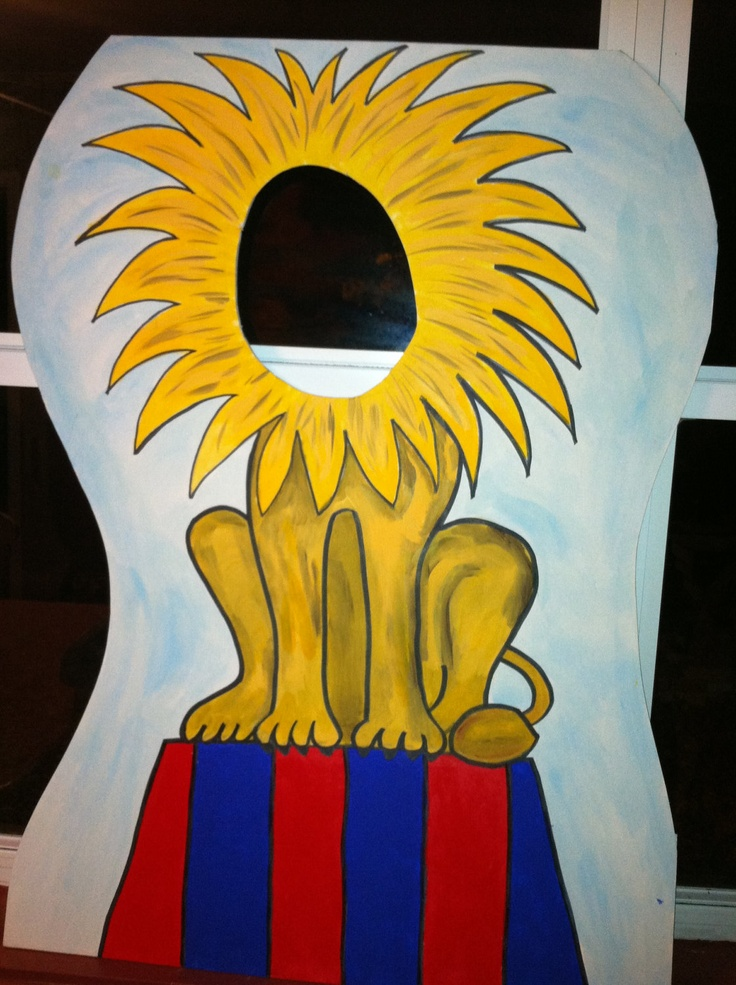Circus or Carnival Themed Party Photo Props by BlueGardenias. $70.00 USD, via…