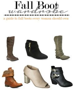 Fall Boots: A guide to the Must Haves -