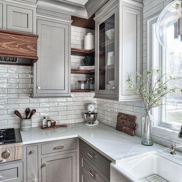 Kitchen Wall Ideas Grey