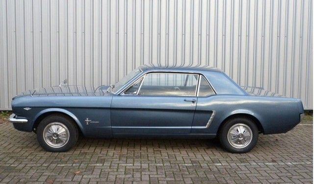 1965 Mustang with Ferguson Formula 4WD. Image: Anamera