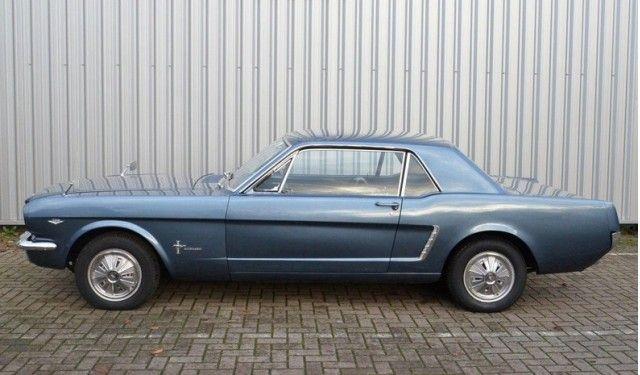 1965 Mustang with Ferguson Formula 4WD. Image: Anamera