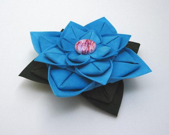 dimensional fabric flower