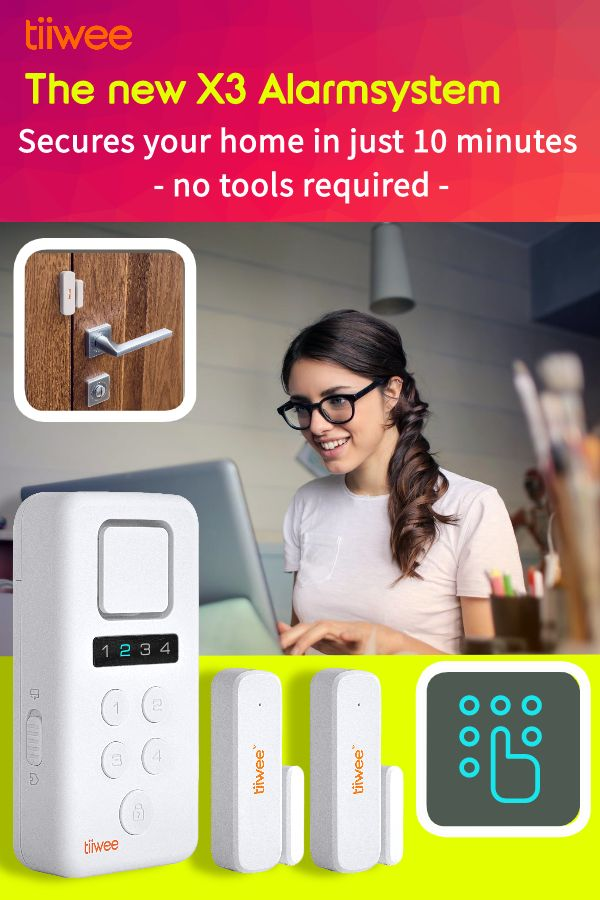 A Simple But Effective Alarm System For Smaller Homes And Apartments In 2020 Alarm Systems For Home Diy Alarm System Alarm System