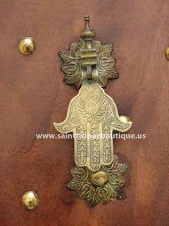Moroccan Hamsa door knockerDoor Knockers, Hamsa Doors, Arabesque Doors Hardware, Moroccan Doors, Brass Doors, Doors Knockers