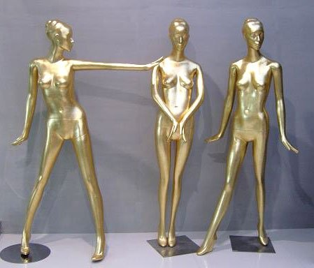 """cafe design: gold mannequins    /////////////////////////////  Cafe/Fashion pop up-shop : french, traditional  """"Where fine fashion, coffee and french desserts elegantly collide"""""""