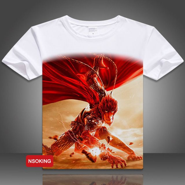Good price Monkey King: Hero is Back T-shirt Flim Son Goku Cosplay T Shirt Short Sleeve Tees just only $14.51 with free shipping worldwide  #tshirtsformen Plese click on picture to see our special price for you