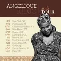Angélique Kidjo Announces 2015 Summer World Tour Dates