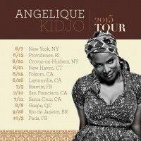 Angélique Kidjo Announces 2015 Summer World Tour Dates